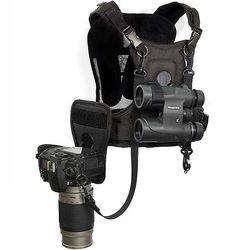 코튼캐리어 쌍안경과 카메라를 거치 하네스