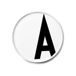 포슬린 알파벳 플레이트-알파벳선택