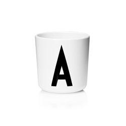 멜라민 알파벳 컵-알파벳선택