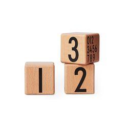 나무 숫자블럭(숫자09세트)-컬러선택