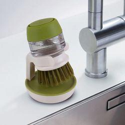 자동 세제펌프 세척브러쉬 수세미