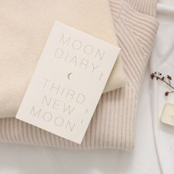 2019 Moon diary ver.6 -작은 달 (S)