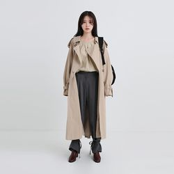 mentor double trench coat (3colors)
