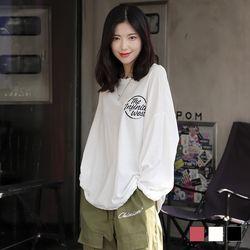 2284 웨스트 라운드넥 티셔츠 (3colors)