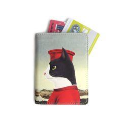 페데리코 일러스트 카드지갑
