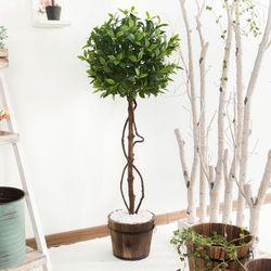 월계수나무 120cm 6-1 조화나무 V [조화]