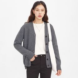 puzzle wool cardigan