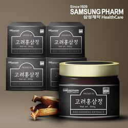 [삼성제약]고려홍삼정300g X 4병 추석설날 명절선물세트