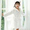 [무료배송] [엔비키즈] 아동 샤워가운 극세사화이트 목욕가운 샤워타올