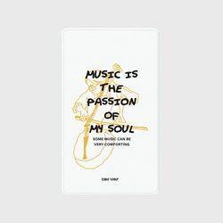 [보조배터리]Music is my soul-white-2500mah
