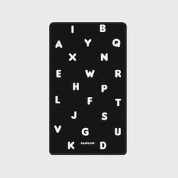 [보조배터리]Alphabet-black-5000mah