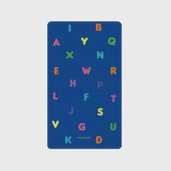 [보조배터리]Alphabet-blue-2500mah