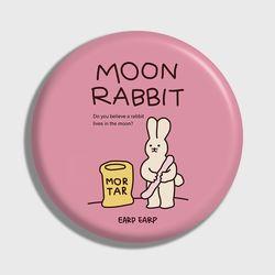 [손거울]Moon rabbit-pink