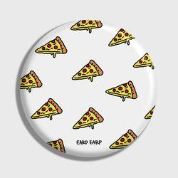 [손거울]Cheese pizza-white