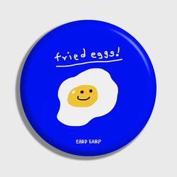 [손거울]Fried eggs-blue