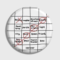 [손거울]Four bingo-white