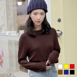 2288 론디 라운드넥 긴팔 티셔츠 (6colors)