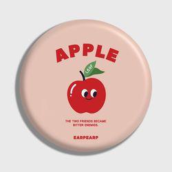 [손거울]Leaf apple-Indy pink
