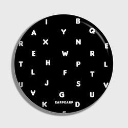 [손거울]Alphabet-black