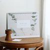 2019 Slow life desk calendar - 슬로우라이프 데스크캘린더