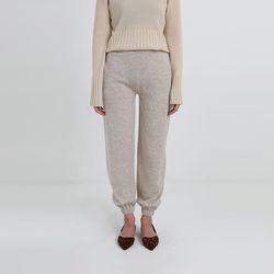 knit banding jogger pants (3colors)