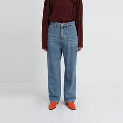 classic vintage long denim pants