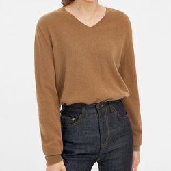 atom v-neck wool knit