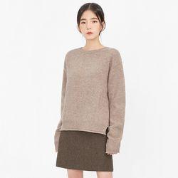 keeping wool basic knit