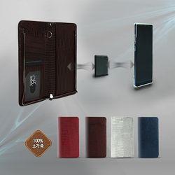 엘지Q6  Q6플러스 X600 로제마그네틱 가죽케이스