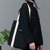 RC mix strap eco bag (black)