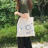 Crescent Moon Cotton Bag