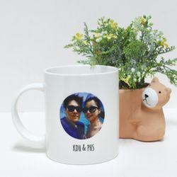 DIY 주문제작 포토 이니셜 머그컵 A2