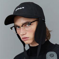 RC earflap cap (black)