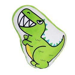 티라노사우루스 캐릭터 공룡 프린트 쿠션 55CM