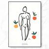 마티스 명화 액자 Nu Aux Oranges 캔버스 6호