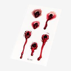 뱀파이어에게 물린 상처 타투