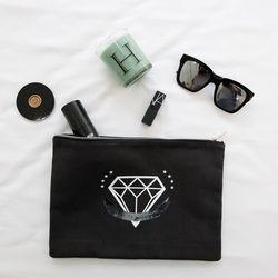 다이아몬드 클러치 (charcoal)