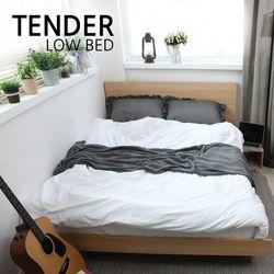 텐더 슈퍼싱글 평상형 침대 포켓 스프링 매트리스