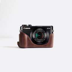 캐논 Canon g7x mark2 하프 카메라 속사 케이스 파우치 가방