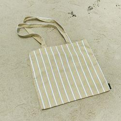 에코백 - Stripe Beige EcoBag