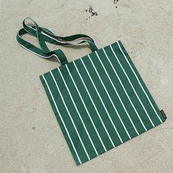 에코백 - Stripe Green EcoBag