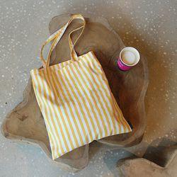 에코백 - Yellow Stripe EcoBag