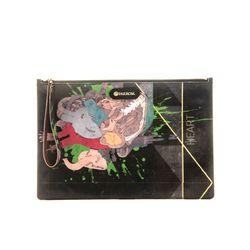 PARROM zipper clutch bag 블랙