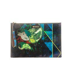 PARROM zipper clutch bag 블루