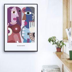 [modern art] 픽토프레임 PICF-726B