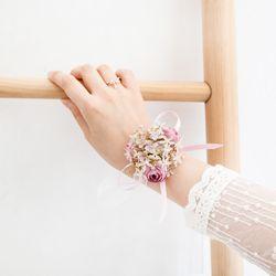 스위티 퍼플 꽃팔찌