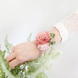 다알리아 꽃팔찌