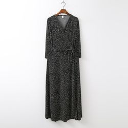 Pure Wrap Long Dress
