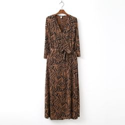 Magic Wrap Long Dress
