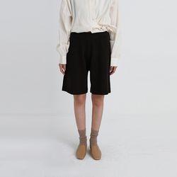knit half pants (4colors)